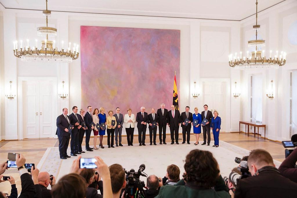 德國梅克爾政府承諾開啟氣候行動法案進程。圖片來源:BMU