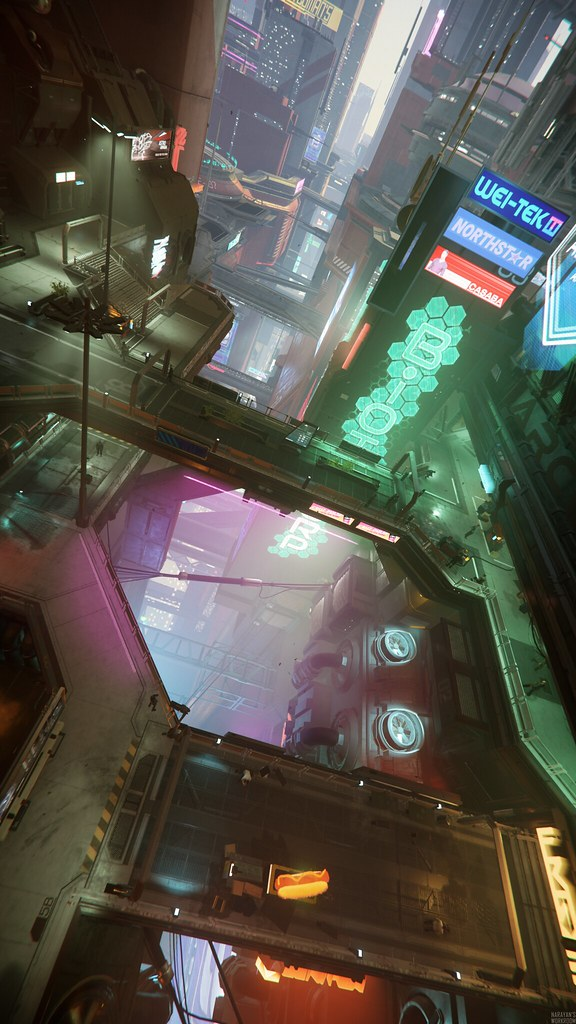 Star Citizen: Streets of Area 18