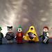 The Riddler, Catwoman, Joker, Hourman, Scandal Savage and Deadman