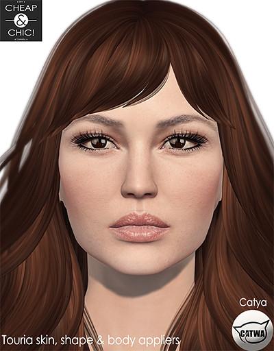 Touria skin applier - Catwa - TeleportHub.com Live!