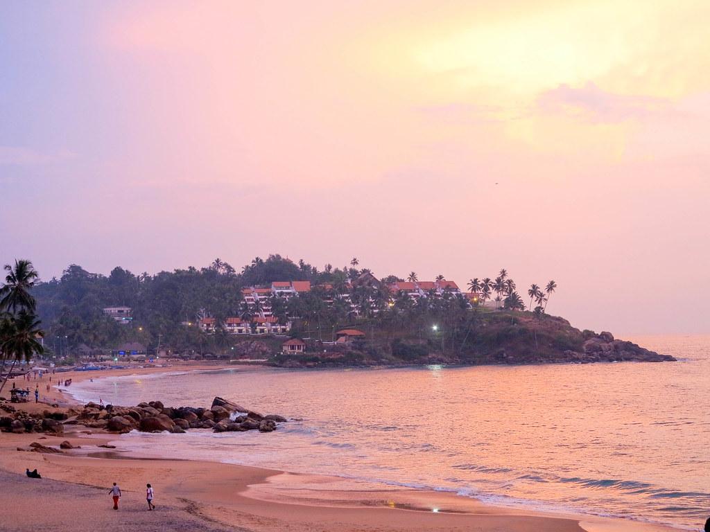 Atardecer en Kerala