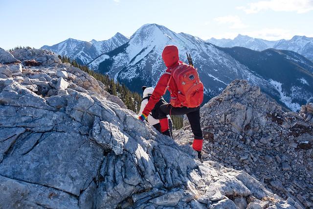 Scrambles - Mt. Baldy - Jan 2019-15