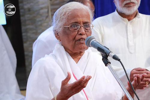 SNM Branch Sanyojak Yamuna Balchandran, expresses her views