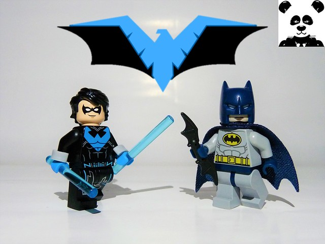 Nightwing and The Batman