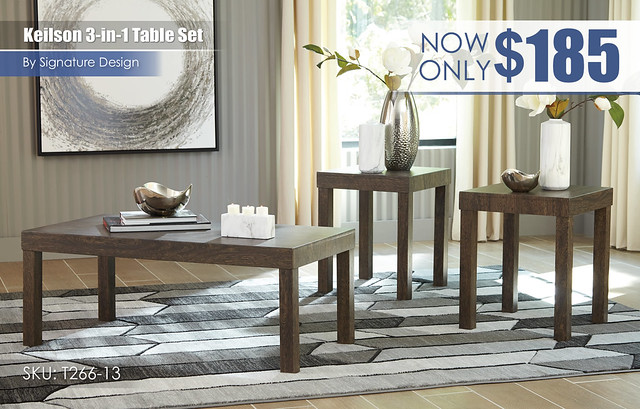 Keilson 3-in-1 Table Set_T266-13