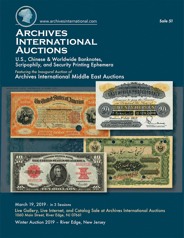 Archives International Sale 51 cover front