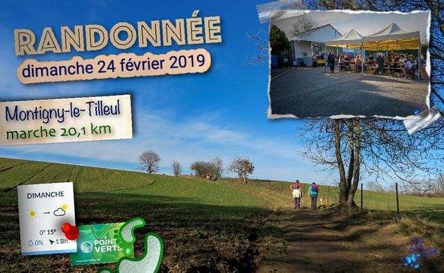 2019 - randonnée - Montigny-le-Tilleul