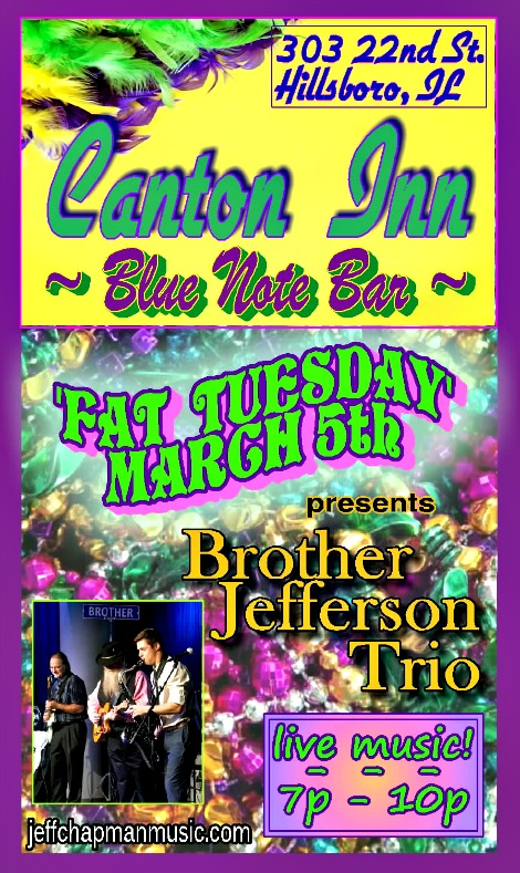 Brother Jefferson Trio 3-5-19