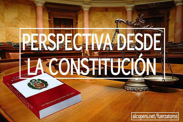 Perspectiva de la Constitución sobre los espectáculos cruentos