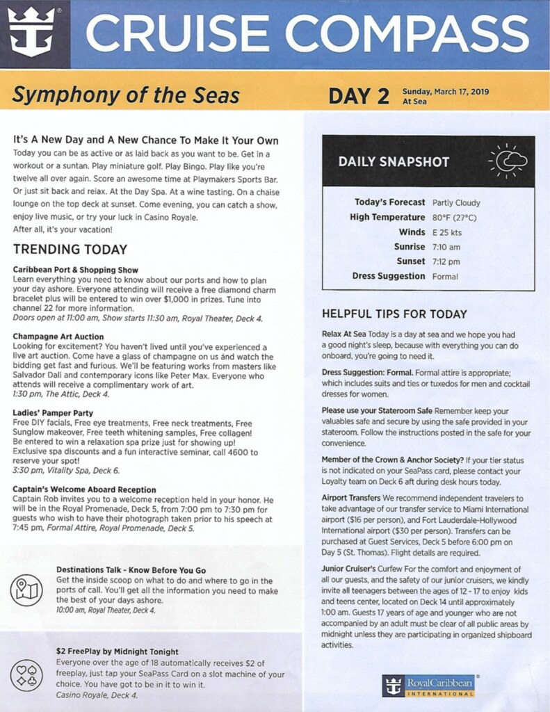 royal caribbean the key review