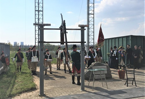 Schutterij Sint-Anna getting ready for the opening of the target shooting season