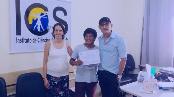 Mais um aluno indígena alcança o grau de bacharel em Antropologia