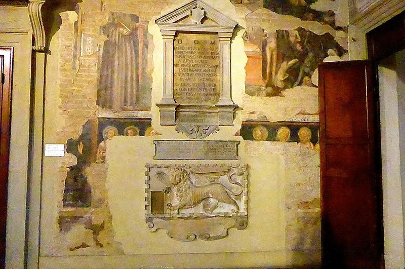 Bologna-Chiesa di San Martino-Afffreschi Vitale da Bologna-2