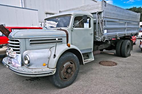 Steyr LKW 586 Tipper 1967 (7281)