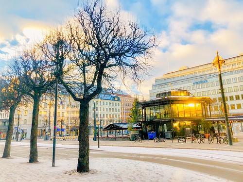 stockholm, sweden, jan 2019 (norrmalmstorg)