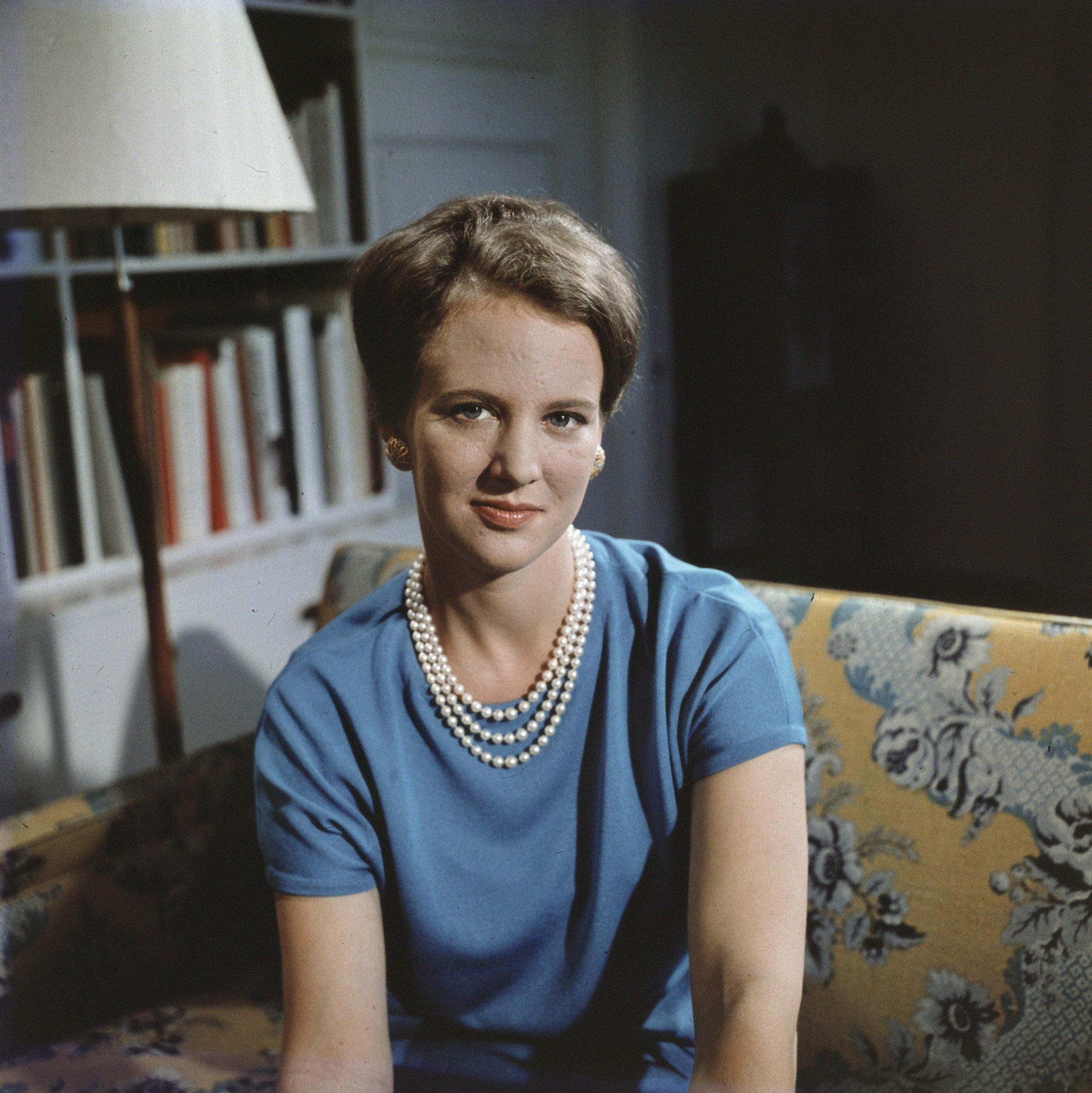 Princess Margrethe photographed on August 15, 1966. From the Dutch National Archives, The Hague, Fotocollectie Algemeen Nederlands Persbureau (ANeFo), 1945-1989, Nummer toegang 2.24.01.07 Bestanddeelnummer 254-7690.