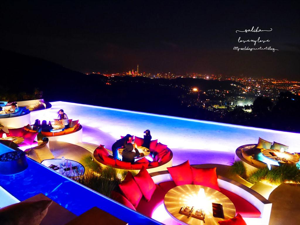 台北陽明山必吃美食夜景景觀餐廳THETOP屋頂上浪漫情人節聖誕節推薦 (9)