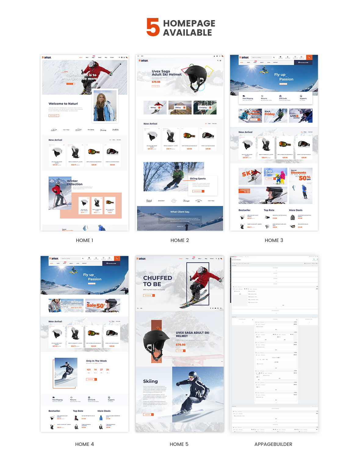 Leo Natur Sport Fashion Prestashop Theme - Mutiple Homepages