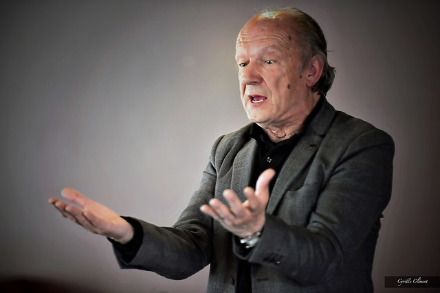 Le poète et écrivain belge Guy Goffette présente le poète slovaque Martin Solotryk
