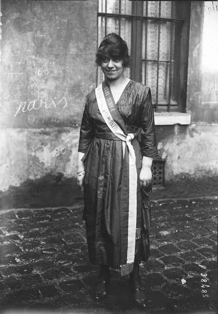 Ивонн Жиллет, королева Ярмарочной площади