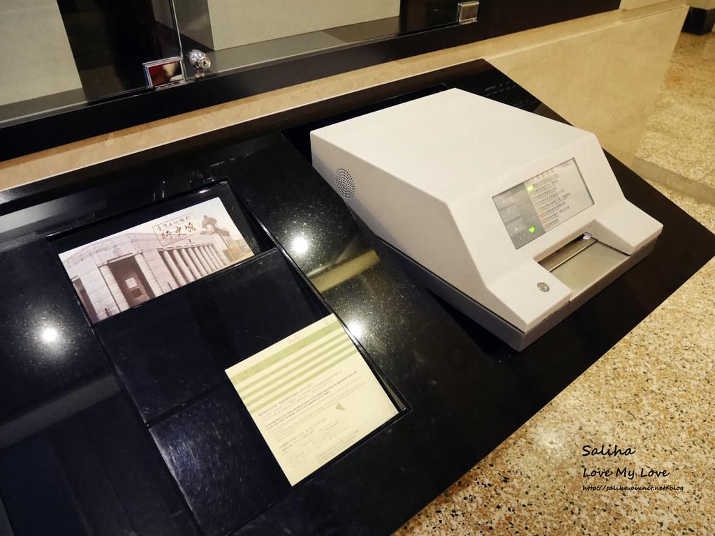 台北車站附近雨天親子好玩景點一日遊推薦土銀展示館 (9)