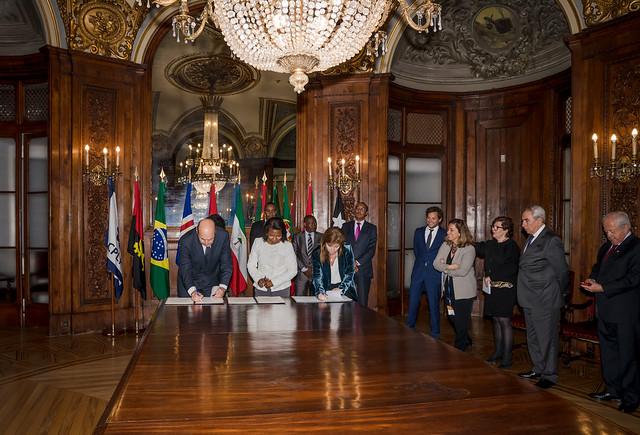 19.03.Assinatura de Protocolo entre Protugal e São Tomé e Príncipe no Turismo