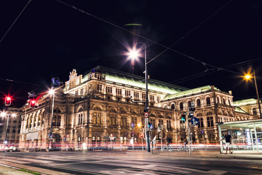 維也納國立歌劇院。圖片來源:tommyandone / envato