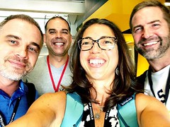A little Yokohama reunion with Fred, @frank_curkovic and @ticooms at #etc2019bkk! Thank you EARCOS for bringing us together!