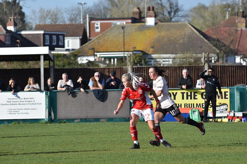 Charlton Women v. Manchester United Women