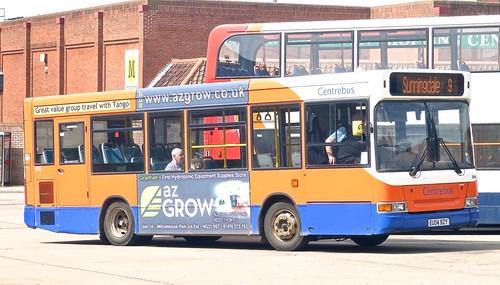 EU04 BZY 'Centrebus' No. 530. Dennis Dart / Plaxton Pointer MPD on Dennis Basford's railsroadsrunways.blogspot.co.uk'