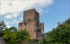HUSSEREN-Les-CHÄTEAUX (Alsace) Haut-Rhin