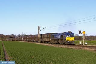 Class 66 29002 mit Kohlezug