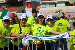 Encuentro de Voluntarios Con el Papa Francisco