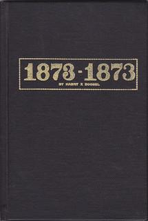 Boosel 1873-1873 book cover