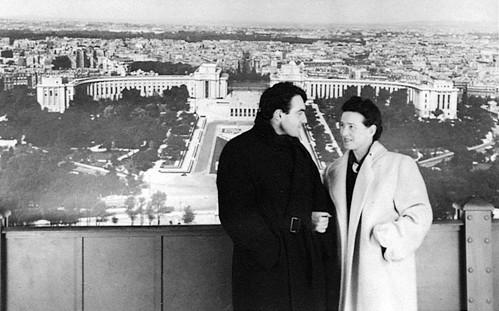 Claude Lanzmann e Simone de Beauvoir2
