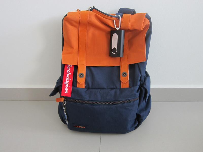 Atmotube Pro - Hanging On Bag