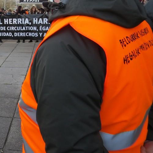 Voluntaria de Irungo Harrera Sarea