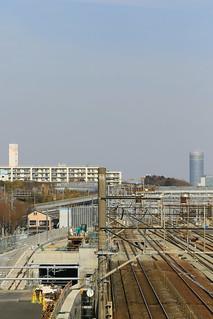 横浜羽沢貨物駅, 羽沢横浜国大駅