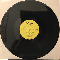 LADY B:TO THE BEAT Y'ALL(RECORD SIDE-B)