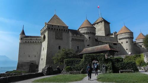 Château de Chillon (Chillon Castle Montreux-Veytaux )   Switzerland