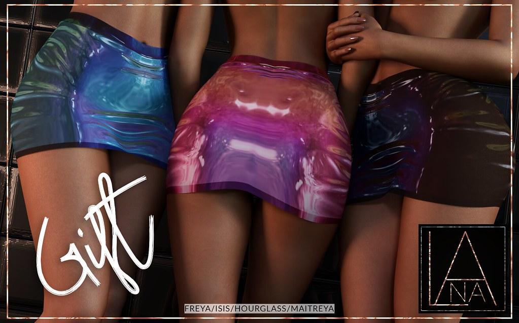 #LANA // The Abi Skirt – VIP GIFT