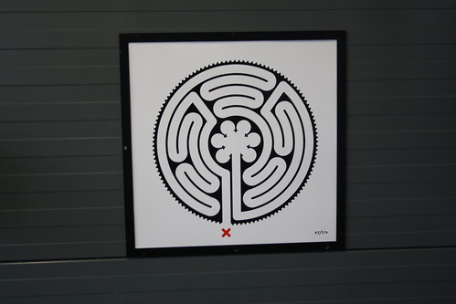 London Underground Labyrinth 47 Stonebridge Park close up