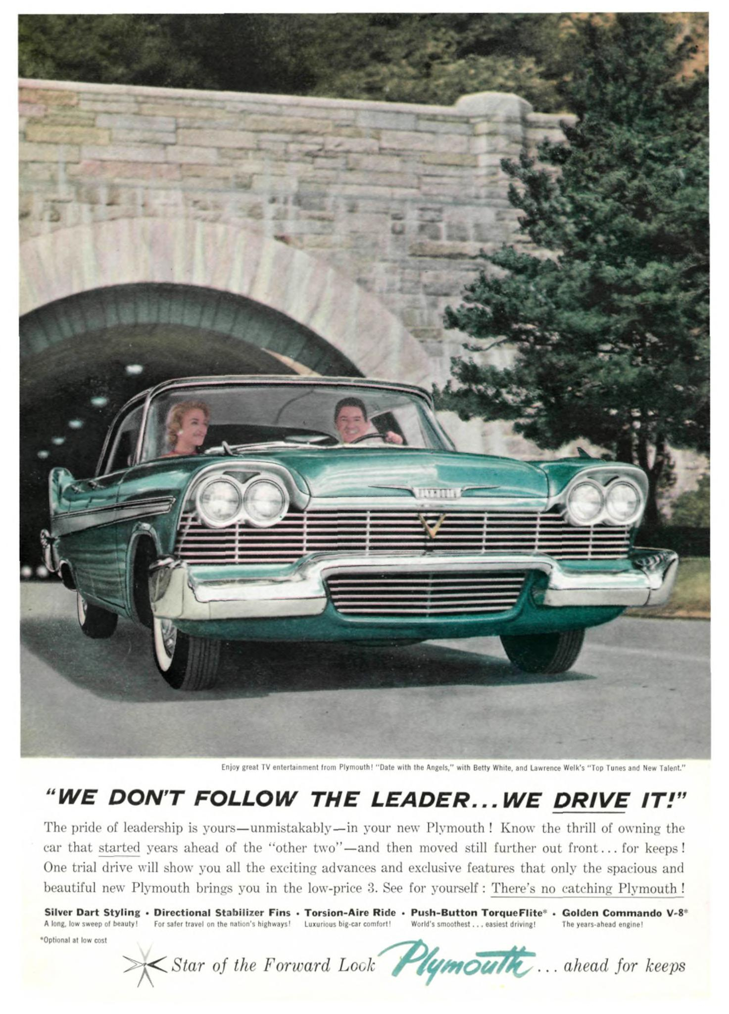 1957 Plymouth - published in Sports Illustrated - December 2, 1957