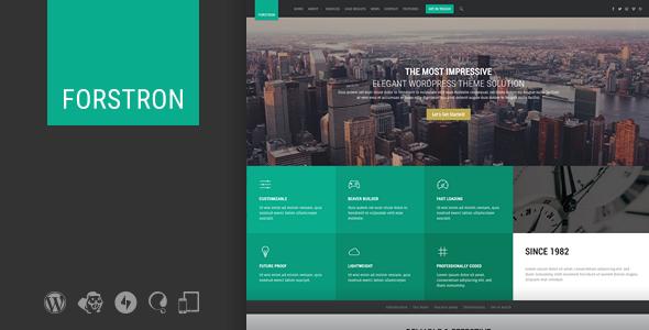 Forstron v2.9.0 - Legal Business WordPress Theme