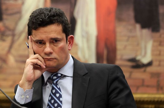 Sérgio Moro ficou conhecido por julgar casos da operação Lava Jato em Curitiba (PR) - Créditos: Agência Brasil