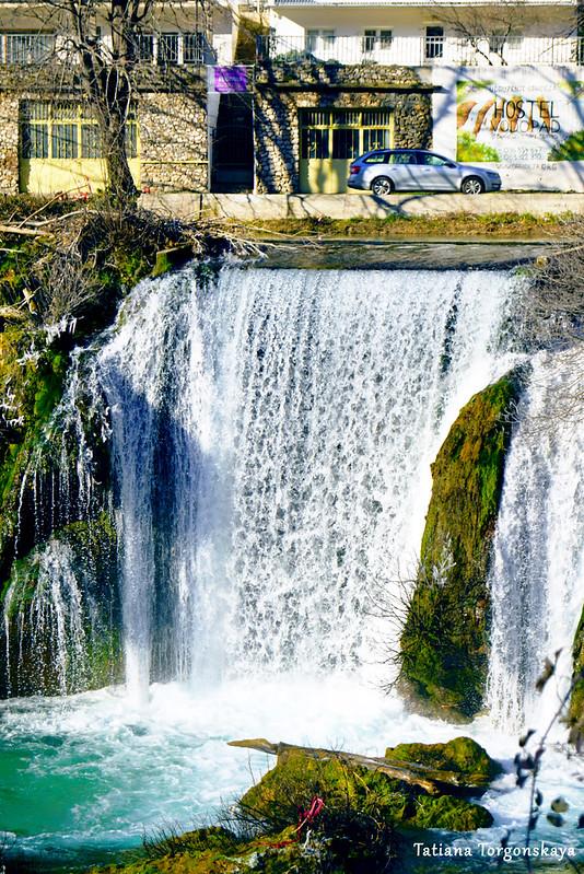 Водопад Провалие в Стоце