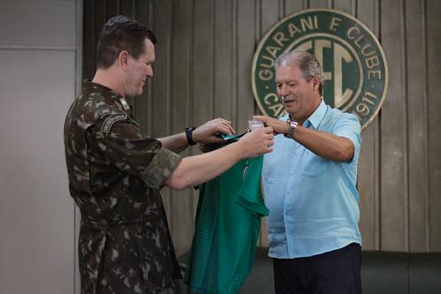 Visita do Exército Brasileiro (11º BIL)
