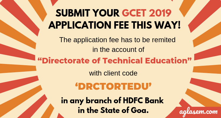 GOA CET 2019 Application Process Ends Today; Admission Committee Will Provide Photo-Admit Card in Person