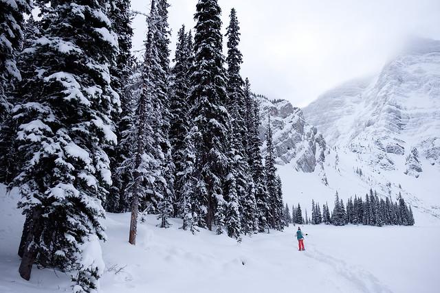 Snowshoeing - Rawson Lake - Jan 2019-11