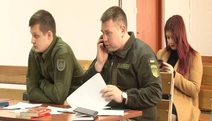 Военные прокуроры Николаевской области Ребенко П.С., Нагорный Д.П.